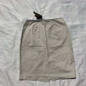 GAP Pencil Skirt Khaki Size 8